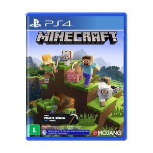 Jogo Minecraft Starter Collection - PS4