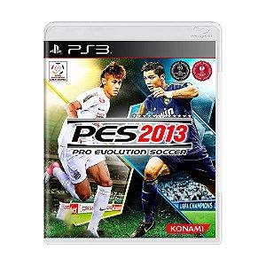 Jogo Pro Evolution Soccer (PES) 2013 - PS3