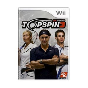 Jogo Top Spin 3 - Wii