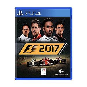 Jogo Formula 1 2017 - PS4