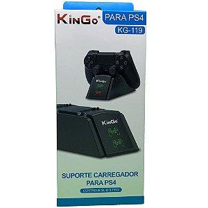 Suporte Carregador para Controle de PS4 (KG-119) Cor Preto