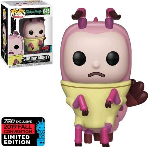 Funko Pop - Rick Morty - Shrimp Morty Exclusivo 645