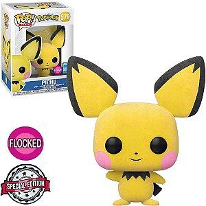 Funko Pop - Pokemon - Pichu Flocked Exclusivo 579