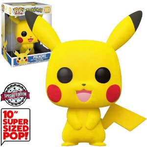 Funko Pop Pokemon *Super Sized 10* Pikachu *Ex* 353