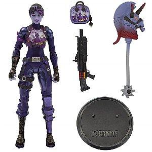 Figura de Açao Articulada  Fortnite - Dark Bomber e Acessorios - Fun