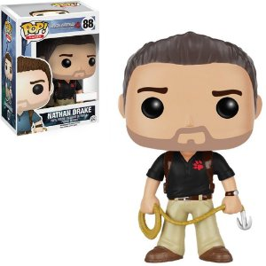 Funko Pop Uncharted 4 Nathan Drake Wearing Naughty Dog Shirt Exclusivo 88