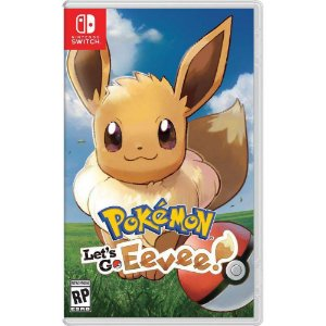 Jogo Pokemon Lets Go Eevee Nintendo Switch