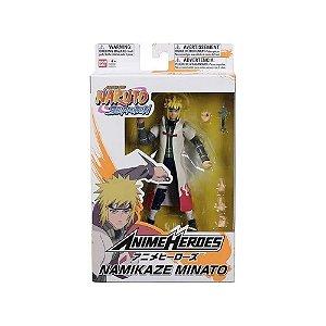 Boneco Articulado Minato Namikaze - Naruto Shippuden - Anime Heroes - Bandai
