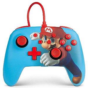 Controle Nintendo Switch Com Fio Super Mario Punch PowerA