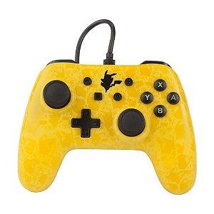 Controle Nintendo Switch Com Fio Pikachu Silhouette PowerA