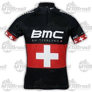 CAMISA CICLISMO BMC SWISS BLACK
