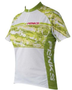CAMISA PENKS SUMMER - BRANCO/VERDE