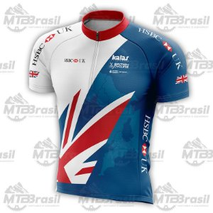 CAMISA CICLISMO HSBC BRITISH CYCLING