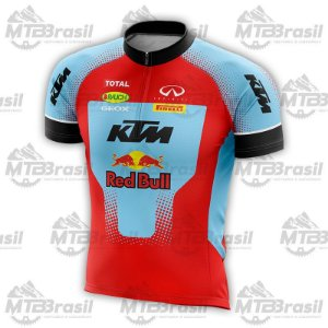 CAMISA CICLISMO RED BULL KTM AZUL