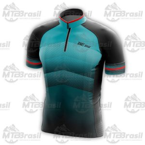 CAMISA CICLISMO SMART DEGRADÊ AZUL