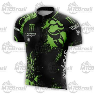 CAMISA CICLISMO MONSTER SCORPION