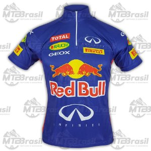 CAMISA CICLISMO RED BULL RACING F1