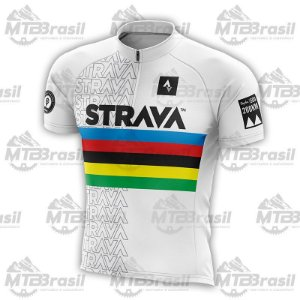 CAMISA CICLISMO STRAVA WORLD CHAMPION