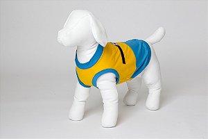 Roupinha para Cachorro Petisco - Camisa Minion Macho