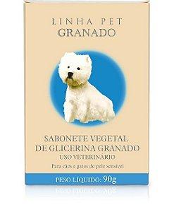 SABONETE VEGETAL GLICERINA - GRANADO PET