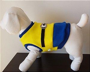 Roupinha para Cachorro Petisco - Coletinho Soft Minions