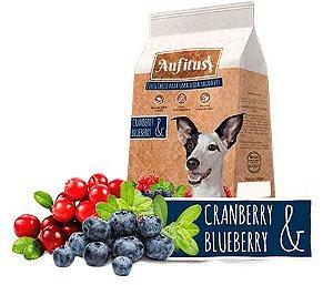 Biscoito Aufitus para Cães Adultos Sabor Cranberry e Blueberry - 200 gr