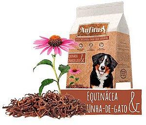 Biscoito Aufitus para Cães Adultos Sabor Equinácea e Unha de Gato - 200 gr