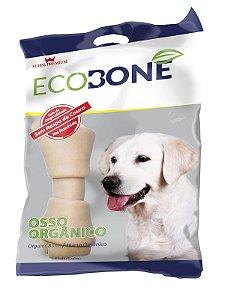 [PRÓXIMO DA VALIDADE] - Ossinho Para Cachorro Integral 100% Vegetal Nó 4/5 - Pacote com 1 Unidade