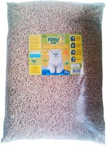 Granulado de Madeira Kitty Cat 15KG (Ultra Econômico)