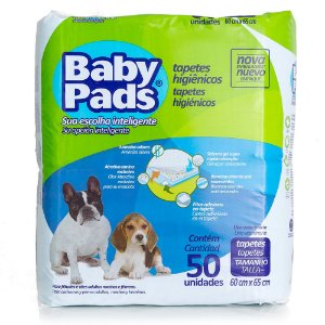 Tapete Para Cachorro Baby Pads 50 Unidades