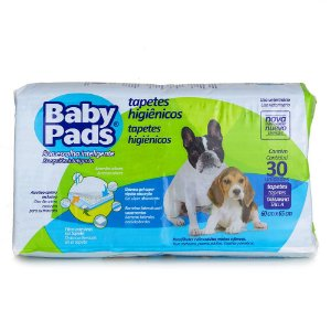 Tapete Para Cachorro Baby Pads - 60x65cm c/30 Unidades