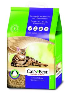 Areia de Gato Cat's Best 10KG (The Power of Nature)