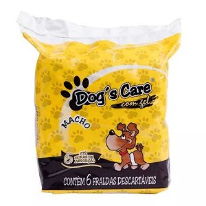 Fralda Macho Dog´s Care - 6 unidades