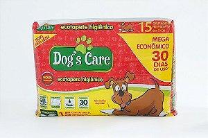 Tapetes Higiênicos MEGA ECONÔMICO c/ 15 unidades 60x70cm - Dog´s Care