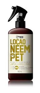 Loção Neem Pet - Limpeza Corpo e Patas 180ml