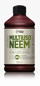 Multiuso Neem Concentrado para Limpeza - Flores e Ervas 450ml