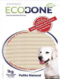Ossinho Palito Para Cachorro 100% Vegetal 15mm 1kg