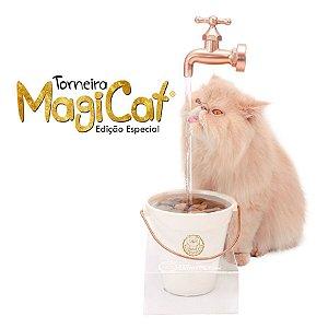 Torneira Bebedouro MagiCat GOLD 1Litro - CatMyPet