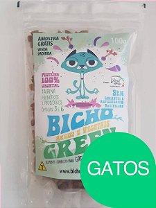 Amostra Grátis Ração Vegana Bicho Green Gatos - Somente um por pedido