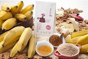 Biscoitinho Panela da Bela Mix - Sabor Banana e Maçã 150G