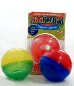 PetBall Comedouro-Brinquedo