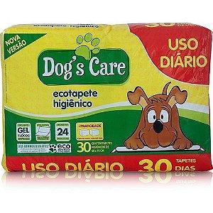 Tapete Higiênico Dog's Care - 60x70cm c/ 30 Unidades