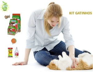 Oferta Kit Gatinhos - Os Gatos São Animais Muito Limpos