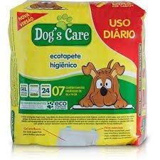 Tapete Higiênico Dog's Care - 60x70cm c/ 7 Unidades