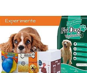 Oferta Kit 1 - Experimente Nossos Produtos Para Cães 100% Vegetais