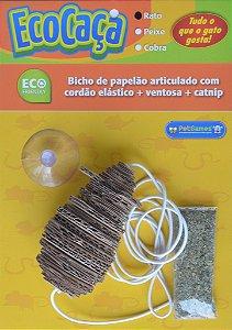 Eco Caça para Gatos - Rato