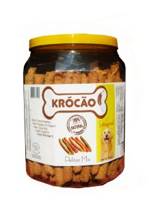 Krocão Biscoito Integral Palito Mix 800 gr