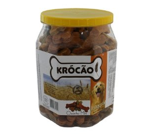 Krocão Biscoito Integral Ossinho Mix 1Kg