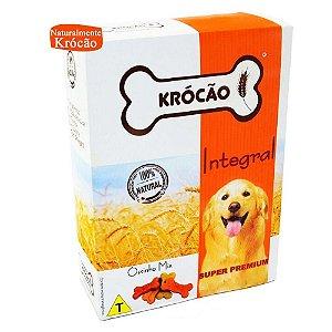 Krocão Biscoito Integral Ossinho Mix 500 gr