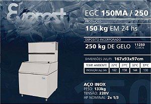 MÁQUINA DE GELO EGC 150MA/250 220V
